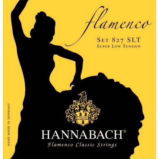 Hannabach Struny pro klasickou kytaru série 827 Super Low Tension Flamenco Classic Sada