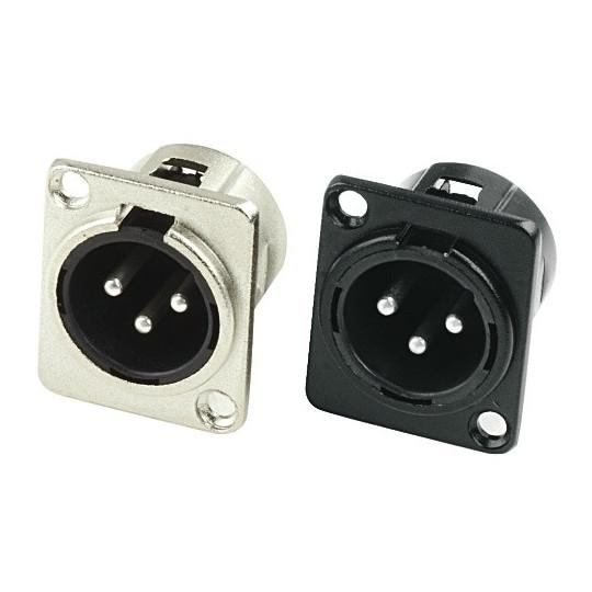 Přípojka Hot Wire XLR konektor Černý