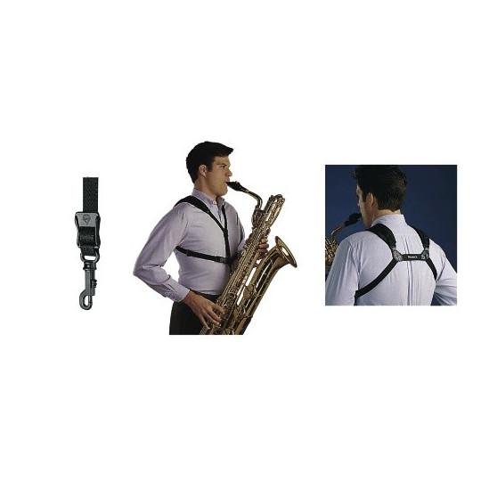 Neotech Popruh pro saxofon Soft Harness Černá, délka 33 - 44,4 cm