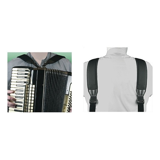 Neotech Popruh pro akordeon Mega Accordion Harness Délka 91,4 - 157,4cm