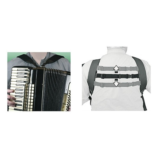 Neotech Popruh pro akordeon Deluxe Accordion Harness Délka 83,8 - 147,3