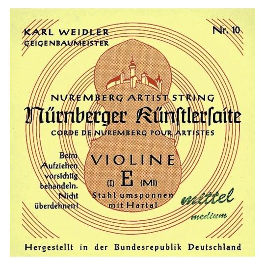 Nürnberger struny pro housle Maestro 1/4 E ocel