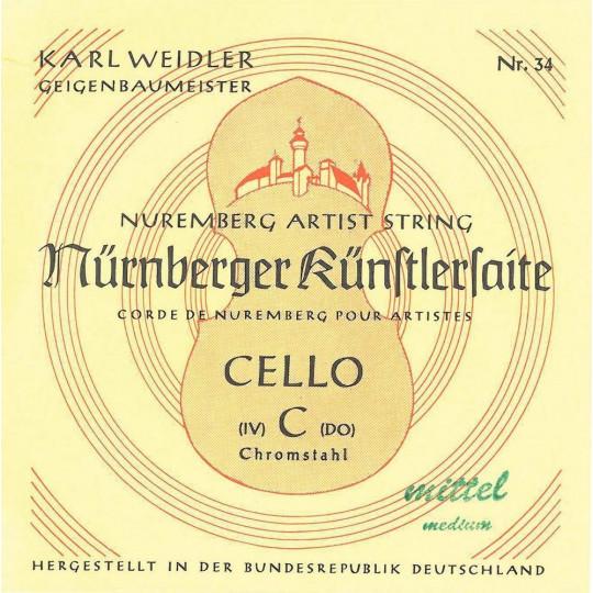 Nürnberger struny pro čelo Artist 1/2