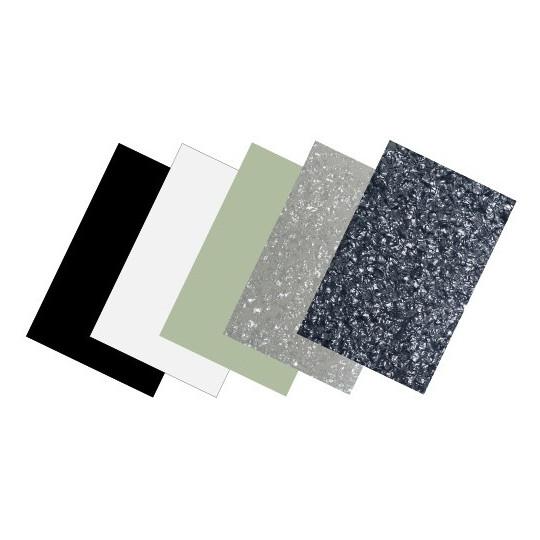 Partsland Úderová deska Plastová deska Perleť-šedá, 3-vrstvá