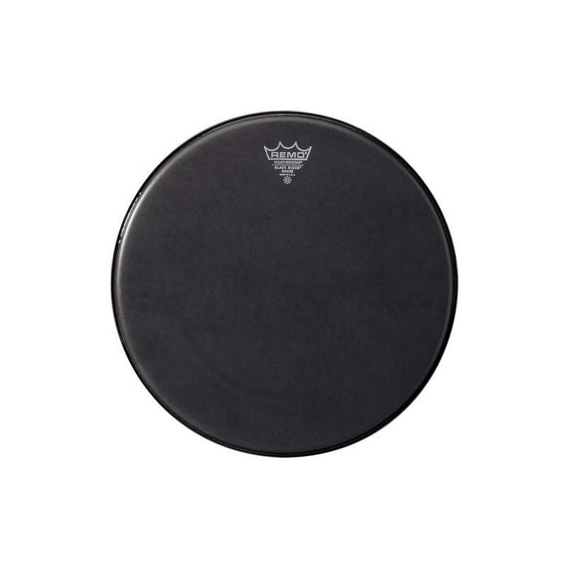 """Remo Ambassador Black Suede Snare Side 13"""" SA-0813-ES"""