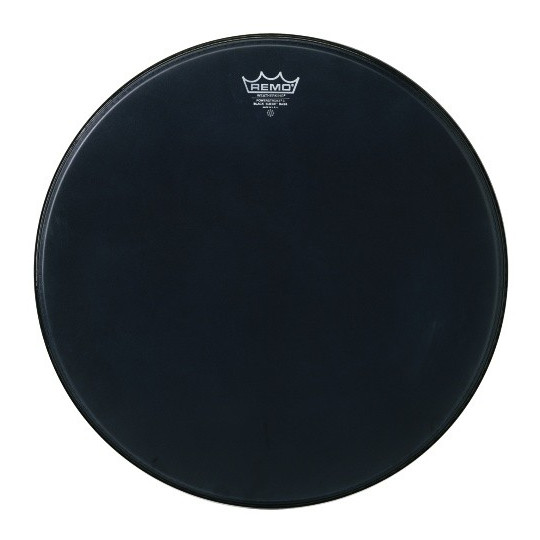 "Remo Powerstroke 3 Black Suede Bass drum 24"" P3-1824-ES"