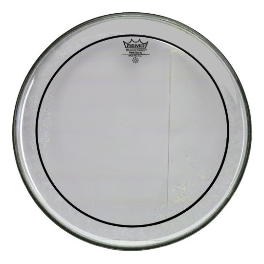 "Remo Pinstripe Transparent 13"" PS-0313-00"
