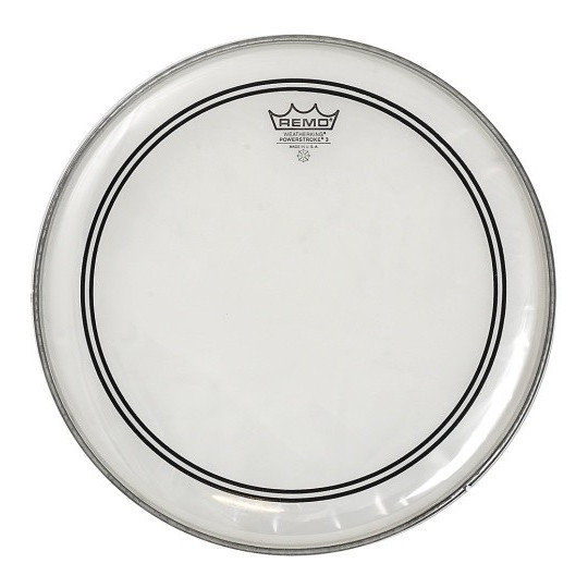 "Remo CS Powerstroke 3 Transparent 14"" P3-0314-C2"