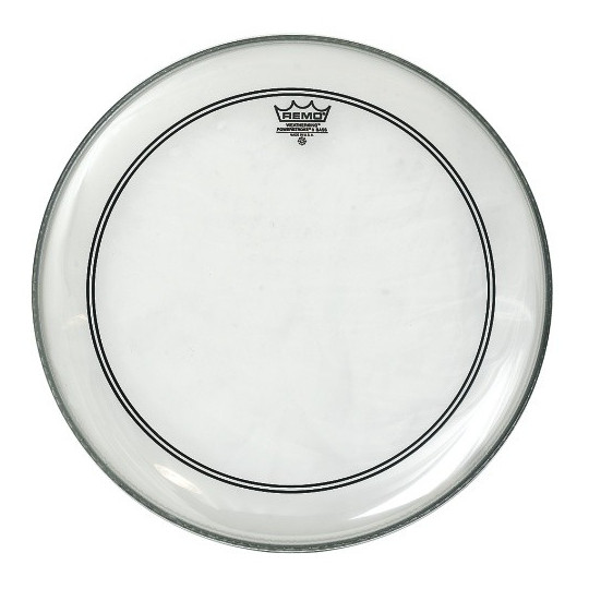 "Remo Powerstroke 3 Transparentní Bass drum 24"" P3-1324-C2"