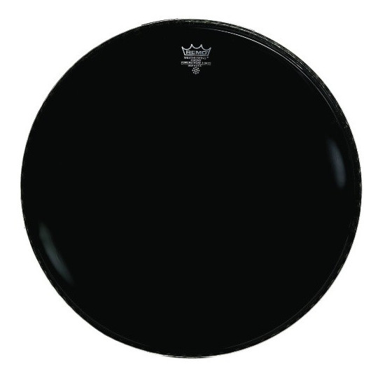 """Remo Powerstroke 3 Ebony Bass drum 20"""" P3-1020-ES"""