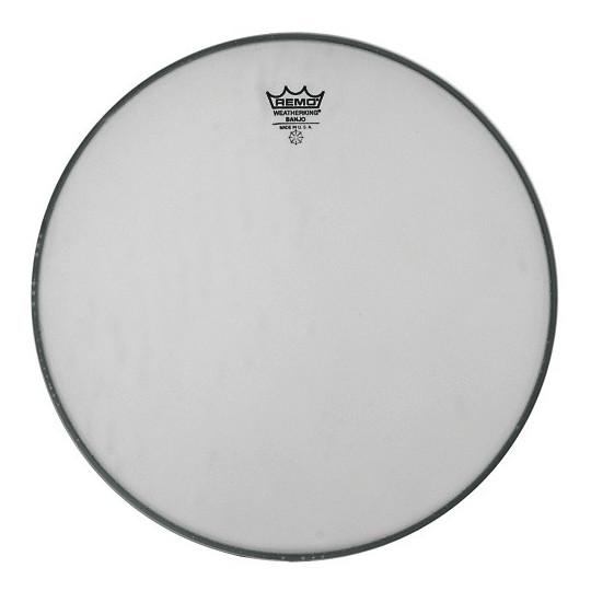 """Remo Banjo blána Medium Collar Bílá, zdrsněná 11"""" BJ-1100-M1 horní"""