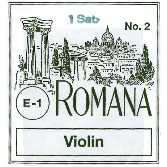 Romana struny pro housle E ocel;