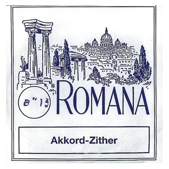 Romana struny pro Akord-citeru Kompletní sada