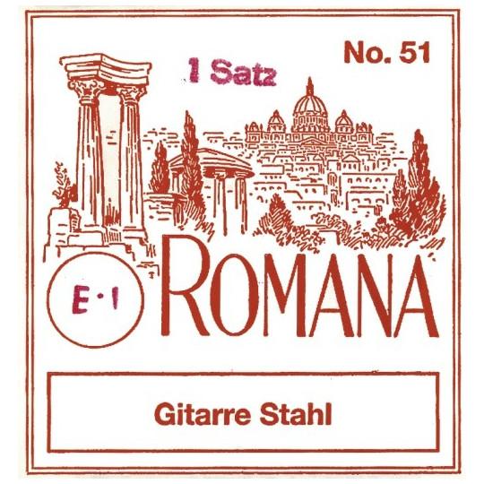 Romana struny pro akustickou kytaru Sada