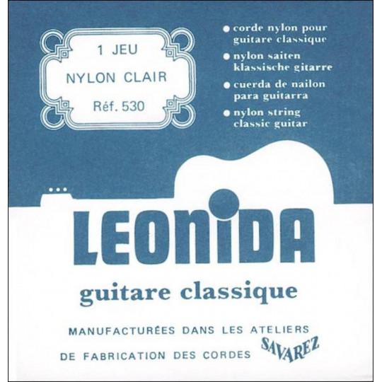 Savarez struny pro klasickou kytaru 500 PR. Standard tension. Sada