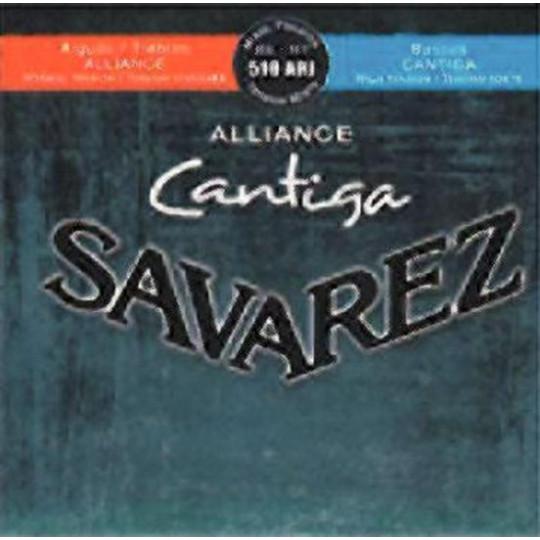 Savarez struny pro klasickou kytaru Cantiga 510 Sada