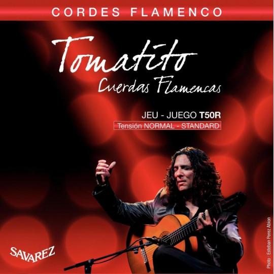Struny pro Klasickou kytaru Flamenco Sada T50R