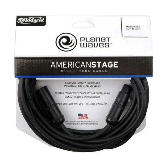 PLANET WAVES PW-AMSM-10 - mikrofonní kabel