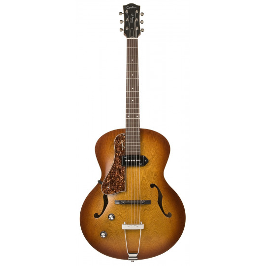 GODIN 5th Avenue LH Cognac Burst Kingpin P90