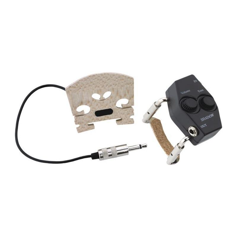 SHADOW SH 940 - houslový snímač zabudovaný do středu kobylky
