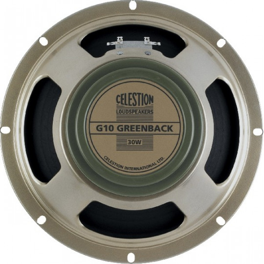 CELESTION G10 Greenback 8Ohm 30W