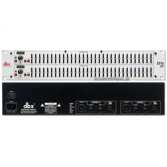 dbx 231S - grafický ekvalizér