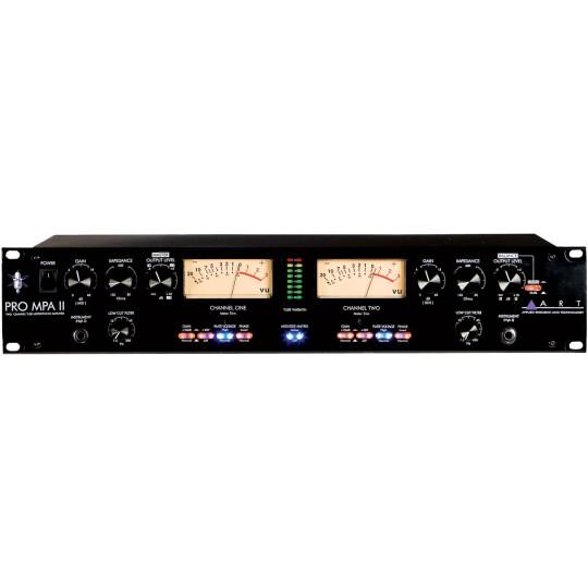 ART PRO MPA II - profesionální dvoukanálový mikrofonní předzesilovač