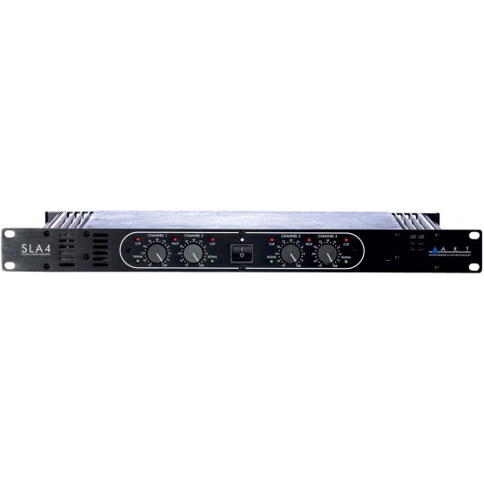 ART SLA-4 - studio lineární 4-kanál zesilovač 4 x 200 W/8 Ohm