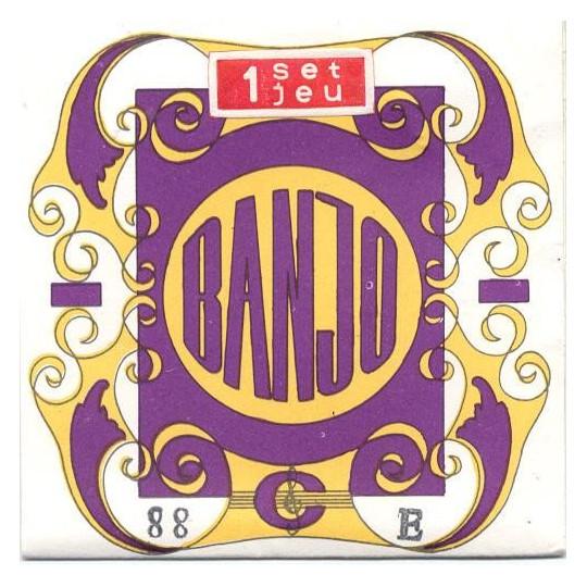"""GORSTRINGS č.88 010-035"""" struny na kytarové banjo - sada"""