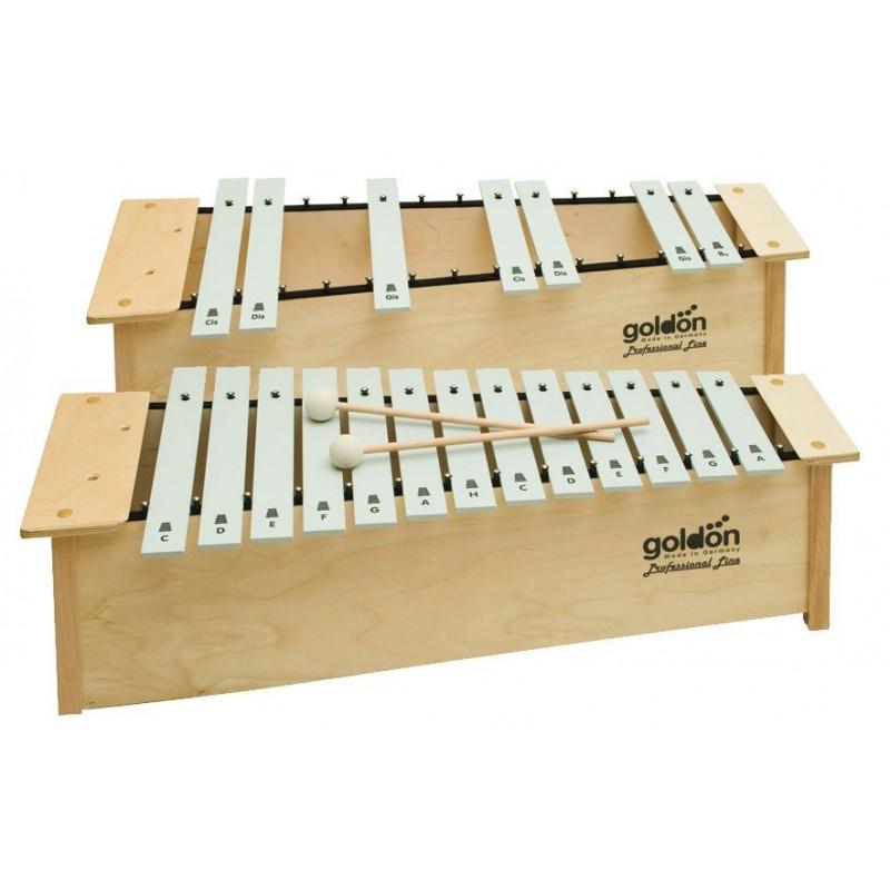 GOLDON - Altový metalofon chromatický (10119)