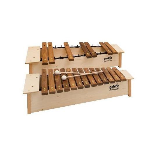 GOLDON - Sopranový xylofon chromatický (10209)