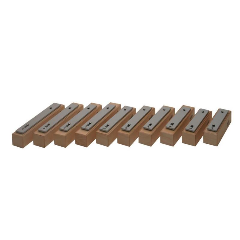 GOLDON - set 10-ti metalofonových kamenů - sopránových (10507)