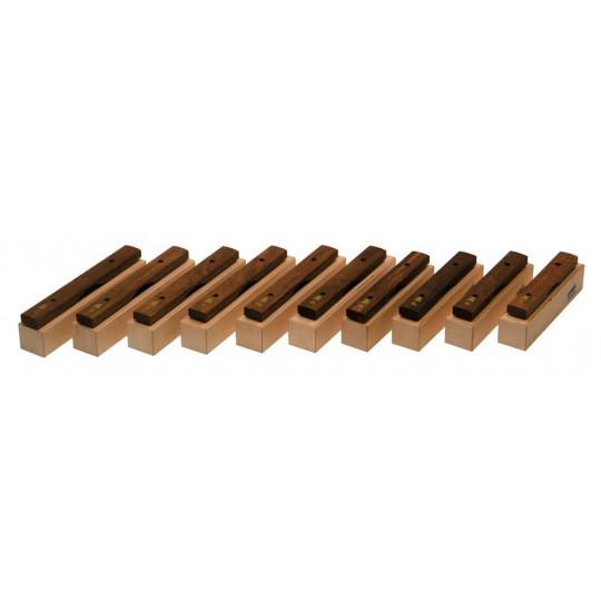 GOLDON - set 10-ti xylofonových kamenů - sopránových (10607)