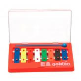 GOLDON - metalofon barevný - 8 kamenů (11000)