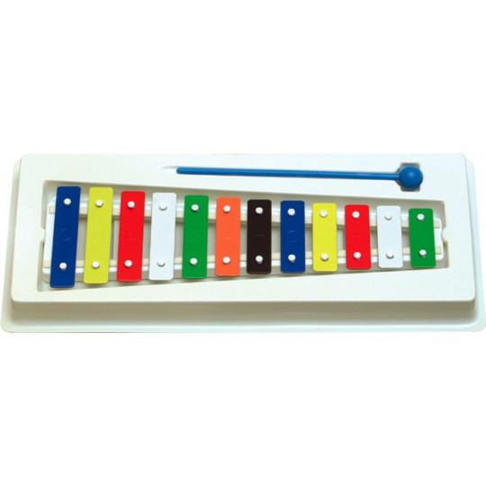 Goldon metalofon barevných 12 kamenů