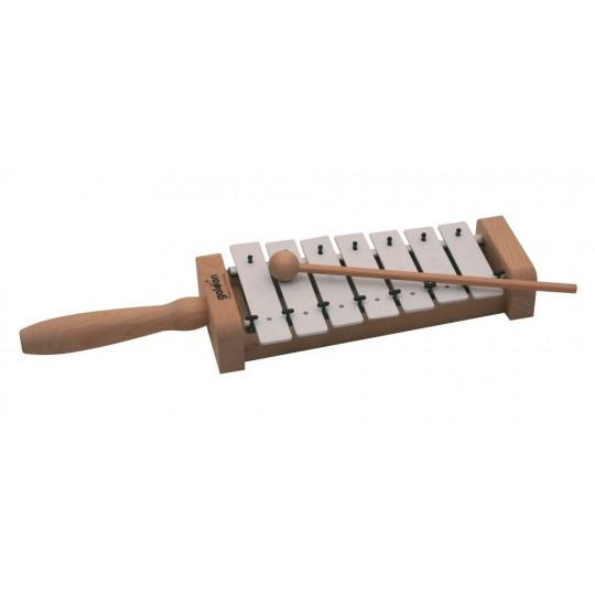 GOLDON - metalofon s držadlem - 7 kamenů (11025)