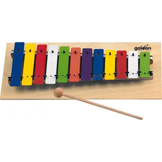GOLDON - metalofon barevný - 12 kamenů (11030)