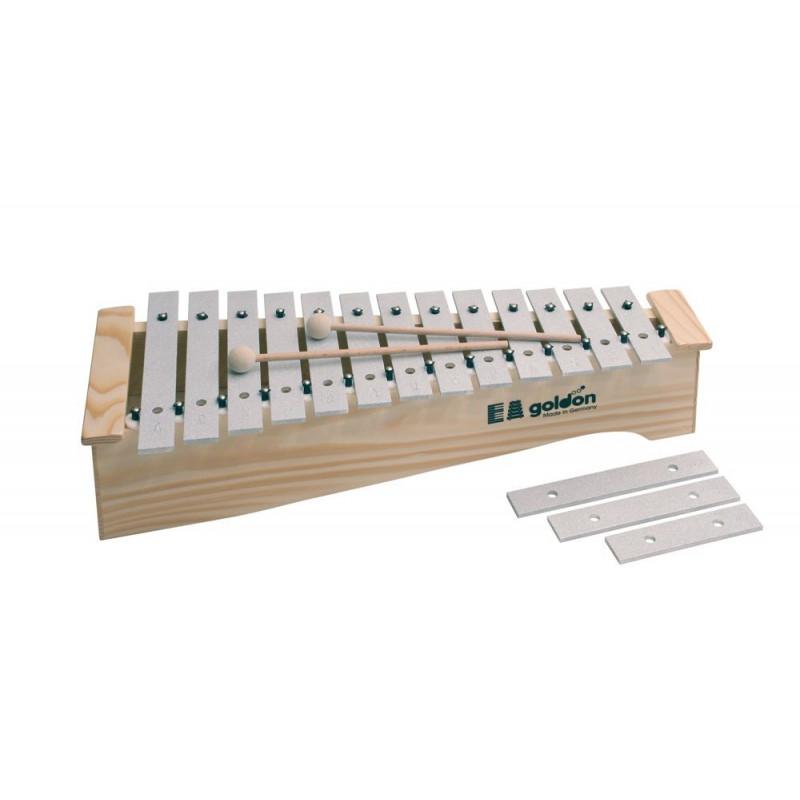 GOLDON - altový metalofon v dřevěném šasi (11170)