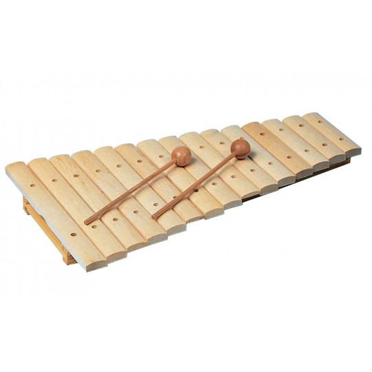 Goldon dřevěný xylofon 15 kamenů