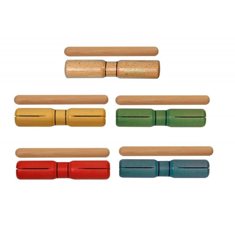 GOLDON - dvoutónový clave různé barvy (33102-33108)