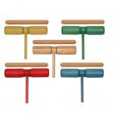 GOLDON - dvoutónový clave různé barvy s rukojetí - barva natural (33120)
