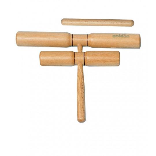 GOLDON - čtyřtónový clave - s rukojetí (33130)