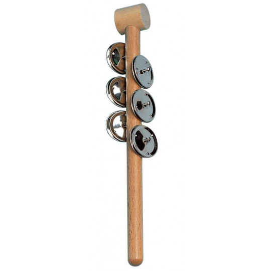 GOLDON - jingle stick - 6 párů plíšků (33430)