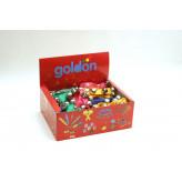 GOLDON - 10 rolniček na barevném řemínku - 50 kusů (33419)