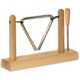 GOLDON - triangl se stojanem - 10cm (33710)