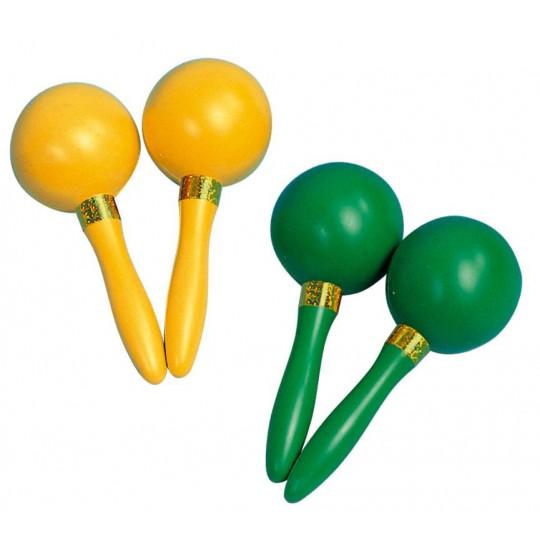 GOLDON - Maracas různé barvy - 64mm (33770)