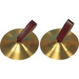 GOLDON - prstové činelky 6,7cm - mosazné (34010)