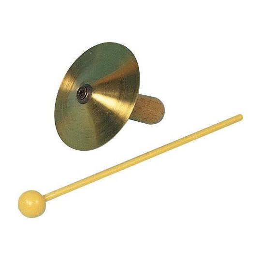GOLDON - prstové činelky 6,7cm s rukojetí - mosazné (34020)