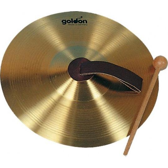 GOLDON - ruční činel 20cm s paličkou - mosazné (34120)