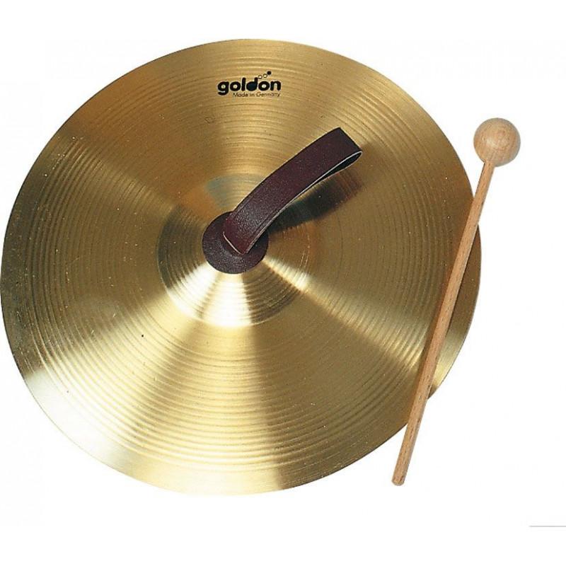 GOLDON - ruční činel 25cm s paličkou - mosazné (34130)